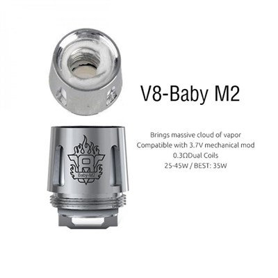 Испаритель SMOK V8 BABY M2 0.15ohm - фото 844752