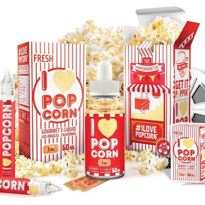I Love Popcorn 60ml (T) by Mad Hatter Juice - фото 844764