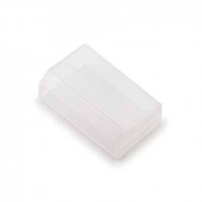 Efest пластиковый кейс на две батарейки 18650 (прозрачный) - фото 844772