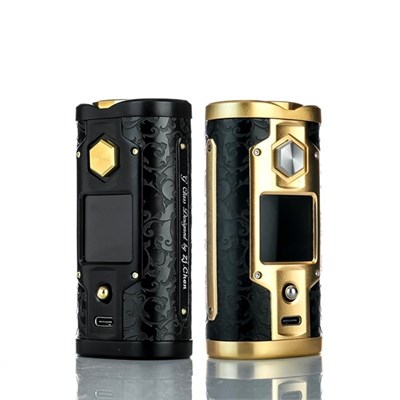 Боксмод YiHi SX Mini G+ Class SX550J+ (Черный, Золотой) - фото 844821