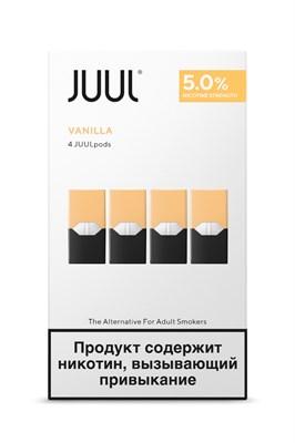 Картридж JUUL Vanilla х4 0,7мл 50мг - фото 844840
