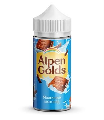 ALPEN GOLDS Молочный шоколад 100мл 3мг by Morjim - фото 844843