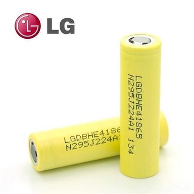 LG HE4 18650 2500mAh 35A - фото 844908