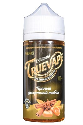 Пряный десертный табак 100мл by TRUEVAPE (Т) - фото 844981