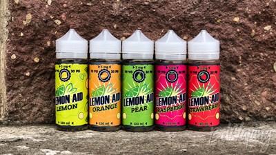 Lemon 120мл 3мг by Lemon Aid - фото 845017