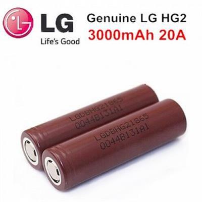 LG аккумулятор 18650-LG HG2 3000 mAh 20 A - фото 845026