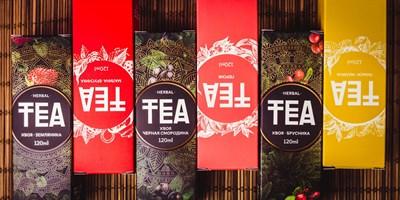TEA HERBAL Хвоя Брусника 120ml (Н) - фото 845333
