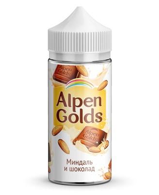 ALPEN GOLDS Молочный шоколад с миндалем 100мл 3мг by Morjim - фото 845485