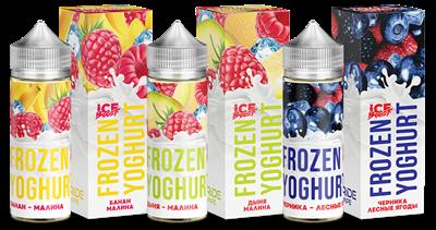 Frozen Yoghurt Брусника-земляника 120ml (Н) - фото 850453