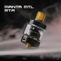 ADVKEN Manta MTL RTA (Black)