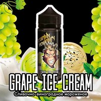 Grape Ice Cream 120 мл by Frankly Monkey Black Edition (Т)