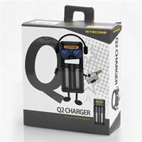 Зарядное устройство NITECORE 2A Quick Charger Черный
