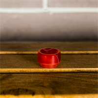 Halfmoonmods 810 Drip tip (Toxic Red)