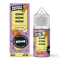 SALT Caramel Baby 30мл by OHM NOM NOM (ДП)