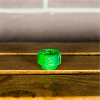 Halfmoonmods 810 Drip tip (Toxic Green)