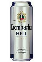 напиток Krombacher Hell 0.5л ж/б