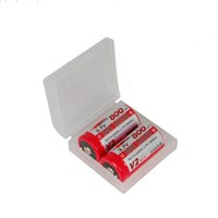 Efest пластиковый кейс на две батарейки 18350 (прозрачный)