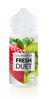 Fresh Duet (No Menthol) 100ml 0mg by Ice Paradise