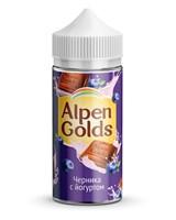 ALPEN GOLDS Молочный шоколад с черникой и йогуртом 100мл 3мг by Morjim