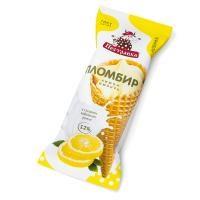 "НЧ ""Пломбир на Сливках"" рожок лимонный 110г"